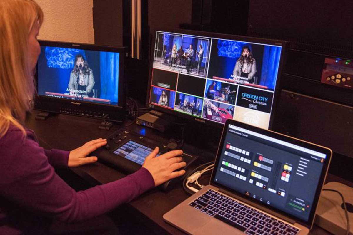 church service recording and live streaming